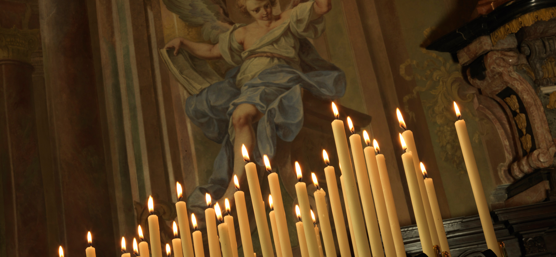La storia della candela